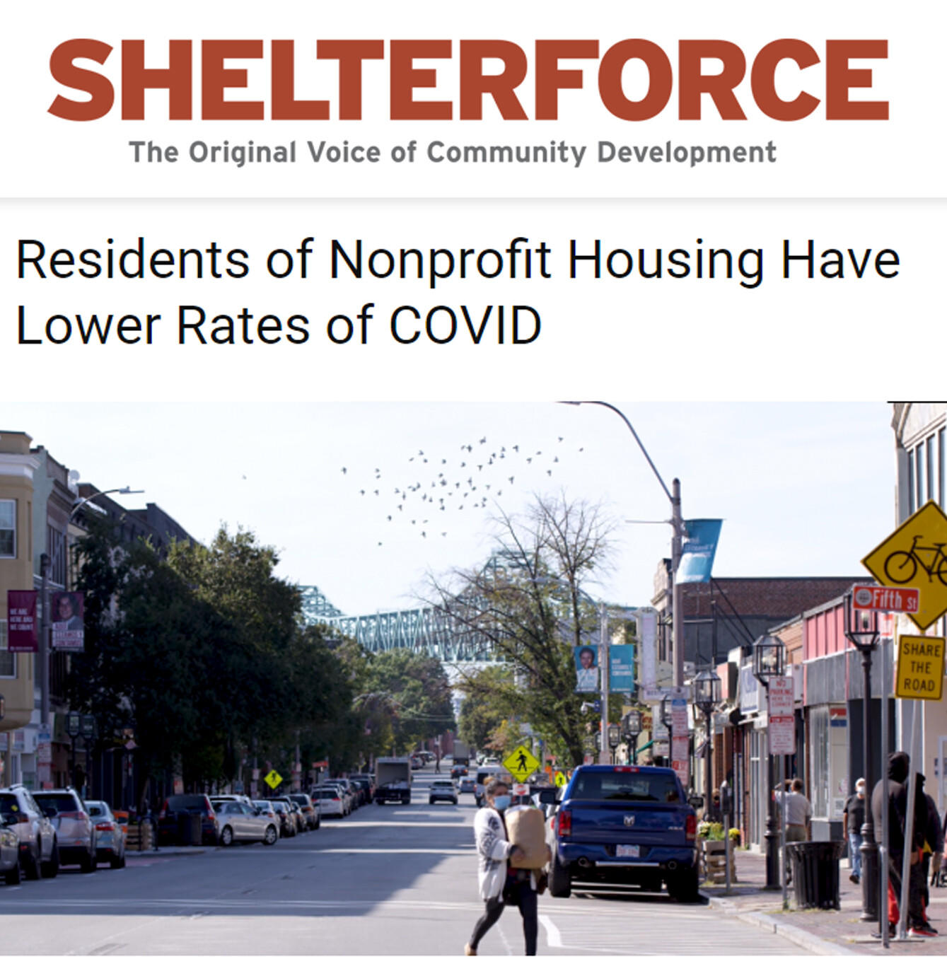 Residents of Nonprofit Housing Have Lower Rates of COVID